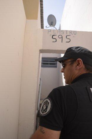 El procedimiento desarrollado por la Policía Federal en el vip céntrico.