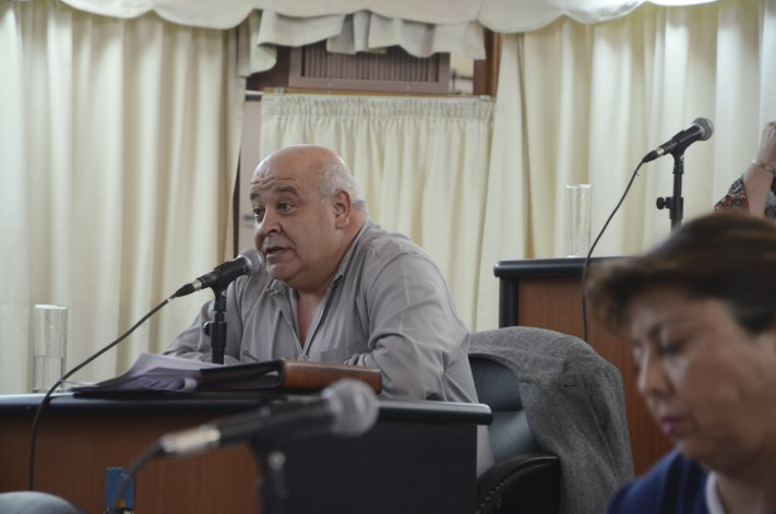 Ricardo Gaitán se sumó a los cuestionamientos que recibió Walter Ñonquepan antes de asumir nuevamente como titular de Chubut Deportes.