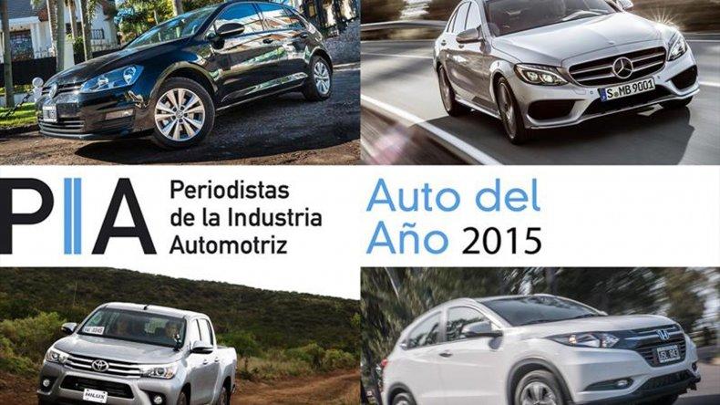 Estos son los Autos PIA del año 2015