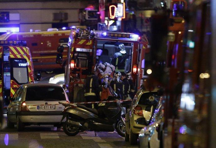 El Estado Islámico se adjudicó los ataques en París