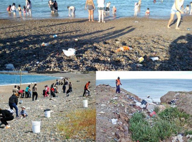 Convocatoria masiva para limpiar las playas de Comodoro y Rada Tilly
