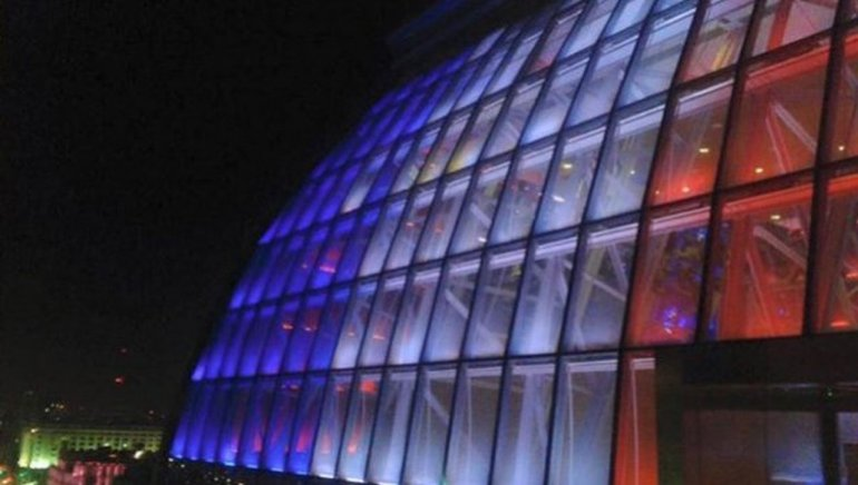 El Centro Cultural Kirchner en Buenos Aires