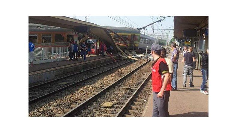 Descarriló un tren experimental en Francia: descartan relación con atentados