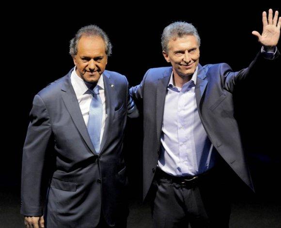 ¿Qué harán Scioli y Macri en los últimos cuatro días de campaña?