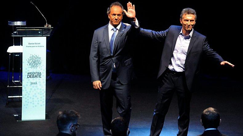 Las fotos del debate presidencial