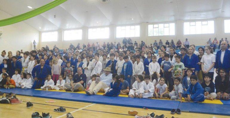 Judocas de todos los niveles y de distintos establecimientos tuvieron su cierre anual.