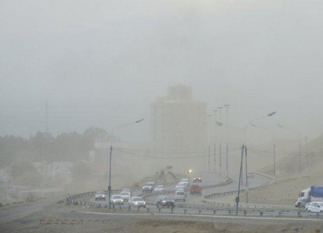 Alerta por fuertes vientos para el sur de Chubut