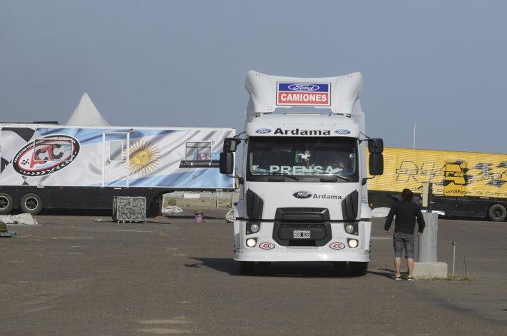 Los camiones de la ACTC ya están instalados en Comodoro Rivadavia.