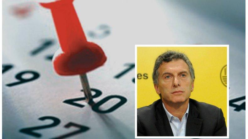 Macri podría eliminar dos feriados si llega al gobierno