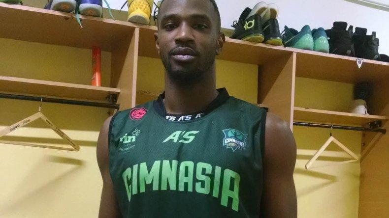 Rashawn Rembert ya está en Comodoro Rivadavia para jugar a partir de mañana en Gimnasia Indalo.