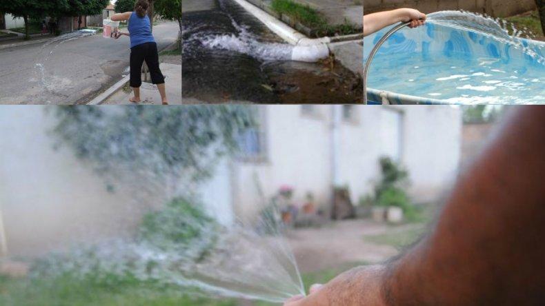 Sólo cuatro inspectores controlan el uso racional del agua y pérdidas cloacales