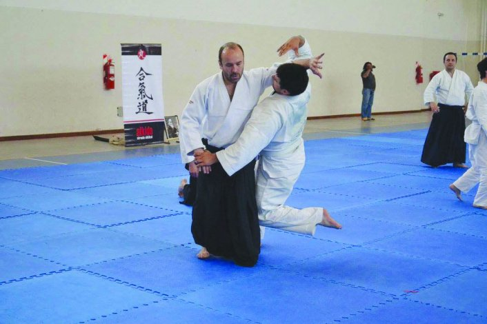Se realizó el 3º Seminario de Aikido del sensei Luis Colalillo