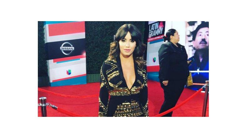 Lali Espósito, súper sexy en los Grammys Latinos 2015