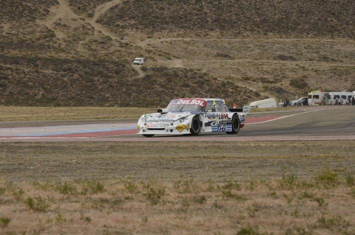 El Ford Falcon de Marcelo Agrelo que se ubicó octavo en la clasificación de la categoría telonera del TC.
