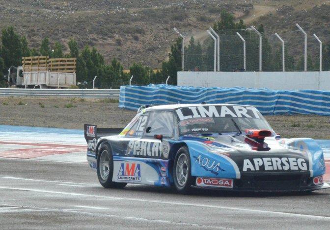 Esteban Gini se quedó con la pole ayer en el TC Pista.