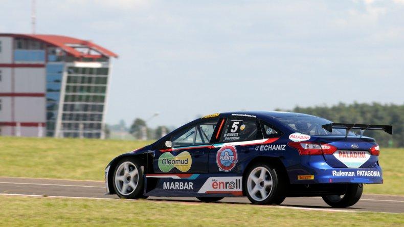 Luciano Farroni está segundo en el campeonato y hoy irá por el título.