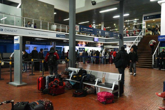 El movimiento de pasajeros crece año a año en el aeropuerto de Comodoro Rivadavia.