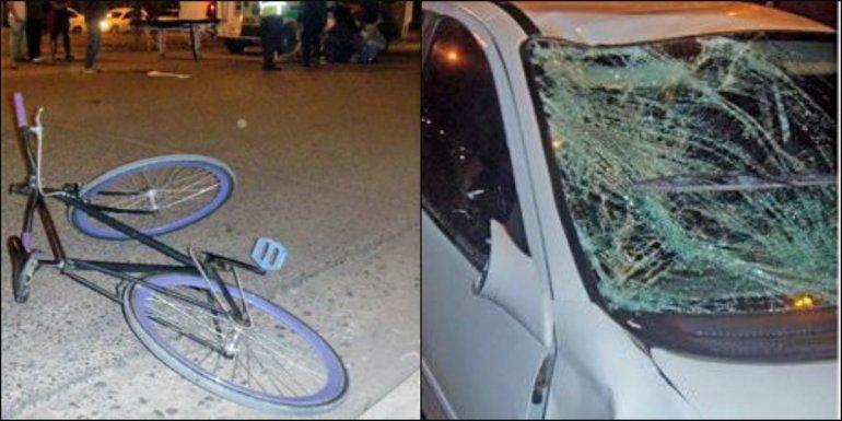 Un joven murió atropellado por dos autos