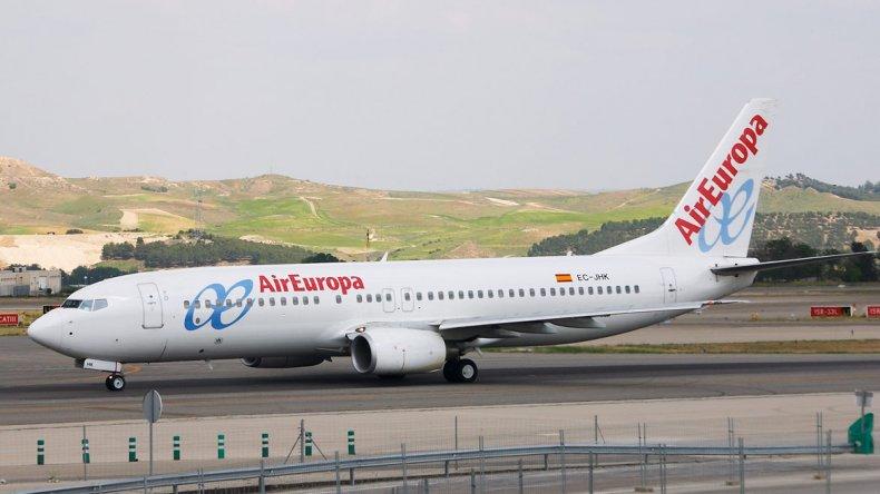 Air Europa presentó su nuevo Airbus 330-300
