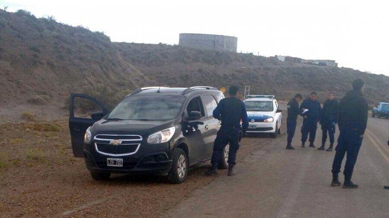 La Chevrolet Spin fue robada en el barrio Quirno Costa y recuperada en Caleta Córdova