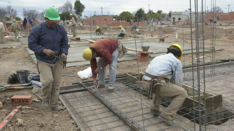 Desde diciembre se perdieron 54 mil empleos en la construcción