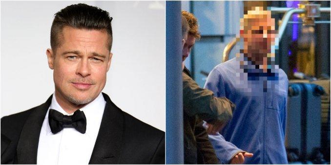 Mirá el nuevo look de Brad Pitt para su próxima película