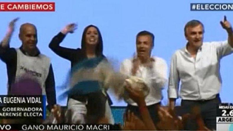 Cambiemos festeja: el pueblo ha definido que el próximo presidente es Macri