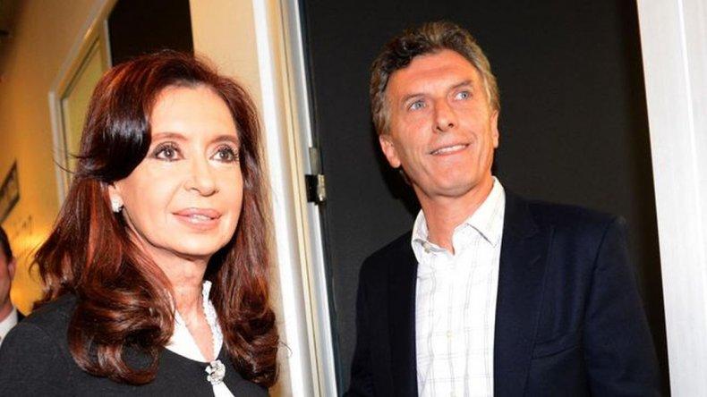 Cristina saludó a Macri y lo recibirá el martes en Olivos