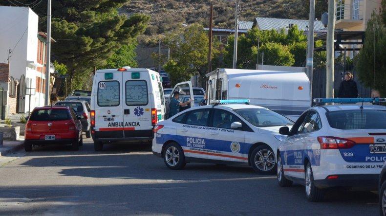 La Policía y la ambulancia llegaron a dar auxilio tanto al hombre como a la mujer