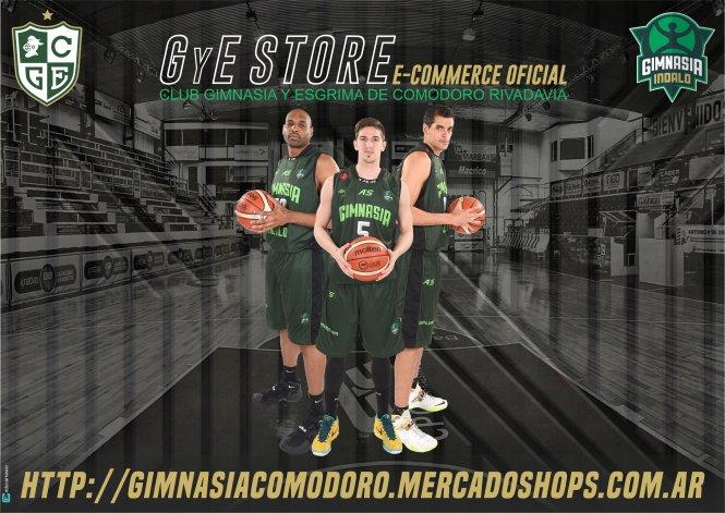 Gimnasia Indalo lanzó GyE Store