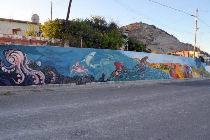 Murales territorio urbano cerró el ciclo 2015 a lo grande