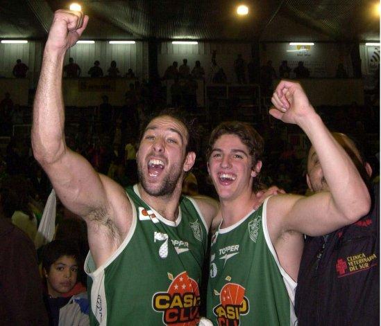Pablo Moldú y Nicolás de los Santos