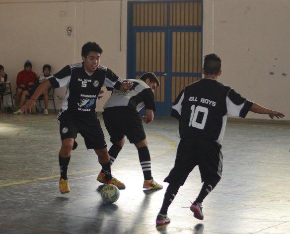 La actividad del fútbol de salón promocional se disputó el sábado en el gimnasio de Tres Sargentos y avenida Congreso.
