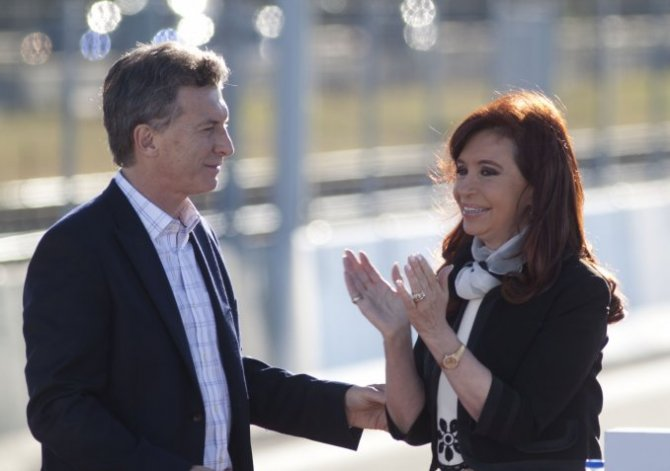 Cristina se reunió en Olivos con Macri