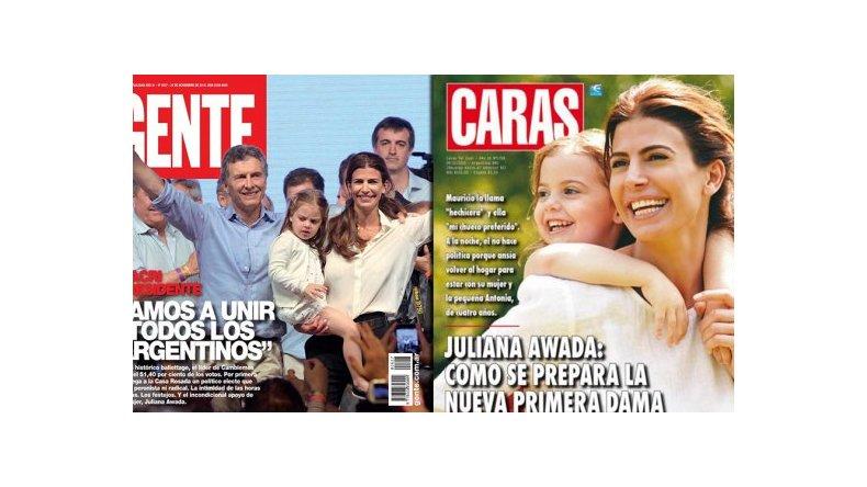 Macri, nuevo presidente, y cómo se prepara la primera dama, Juliana
