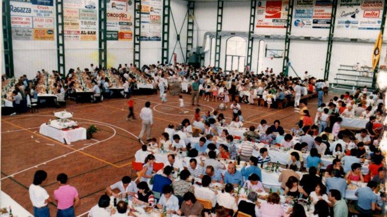 30 Años del Socios Fundadores: imágenes del ayer y del presente. Foto: Prensa Gimnasia.