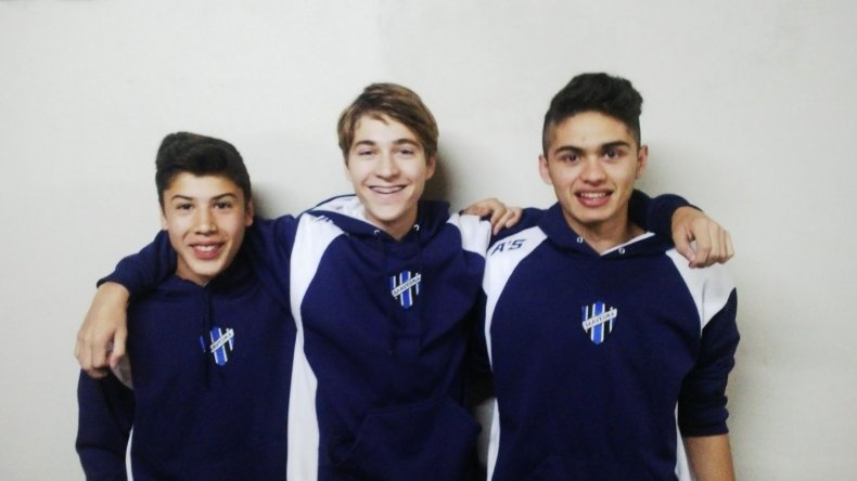 Tres comodorenses del club Saavedra se prueban en Olimpo