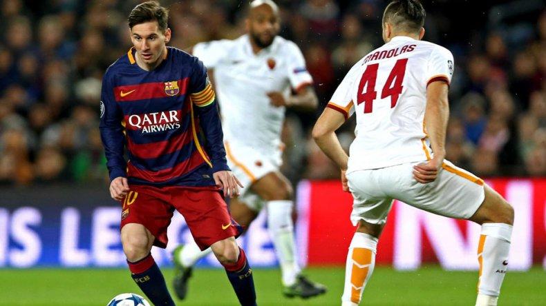 El Barcelona aplastó a la Roma 6 a 1