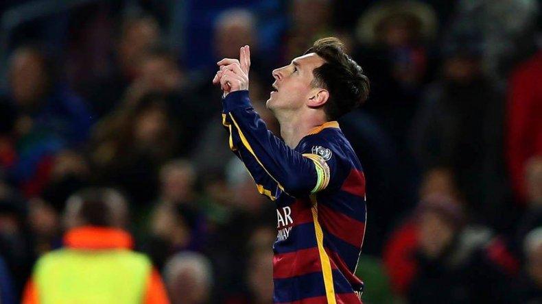 Messi festejó dos goles