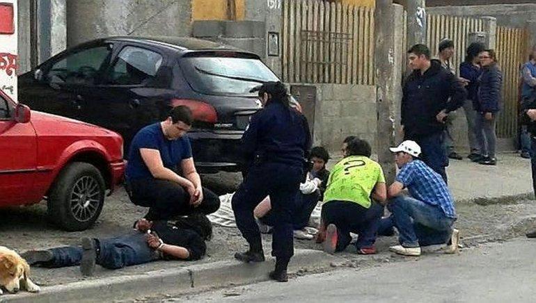 Homicidio en Río Gallegos. Foto: Tiempo Sur