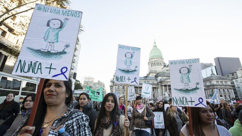 En 2014 hubo 225 femicidios, según el Registro Nacional de Femicidios
