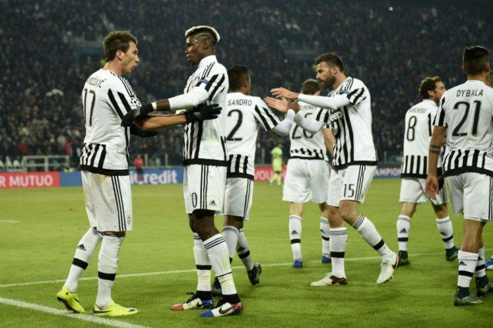 Juventus derrotó al Manchester City y está en octavos