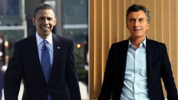 Barack Obama se comunicó con Mauricio Macri
