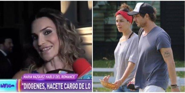 María Vázquez retó a su hermano por no hablar del romance con Juana Viale