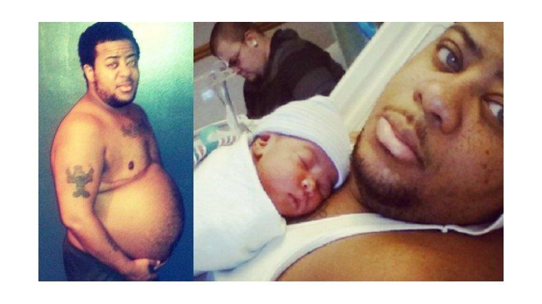 Un hombre trans pensó que había engordado, pero estaba embarazado