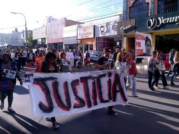 Mañana habrá una nueva audiencia y movilización por la muerte de Lucas Díaz