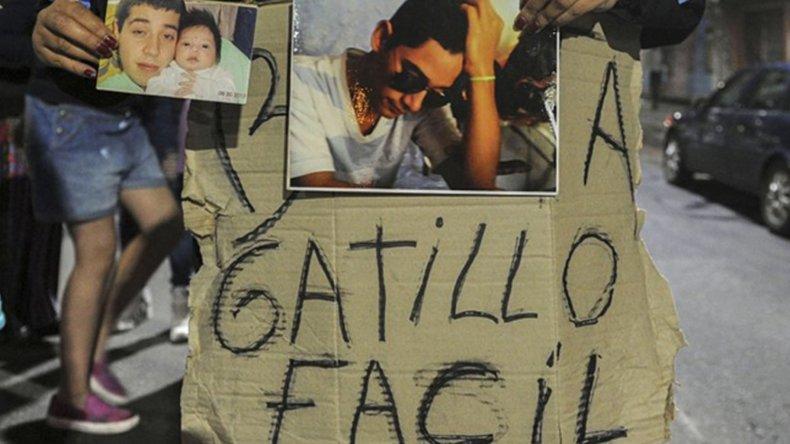 Lucas Cabello fue baleado por un efectivo de la Policía Metropolitana.