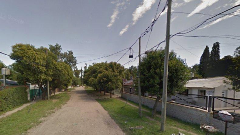 Un vecino de Glew fue asesinado mientras cenaba.