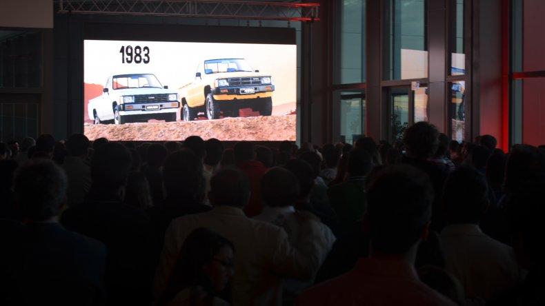Un video institucional graficó la evolución de la Toyota Hilux a lo largo de las décadas.