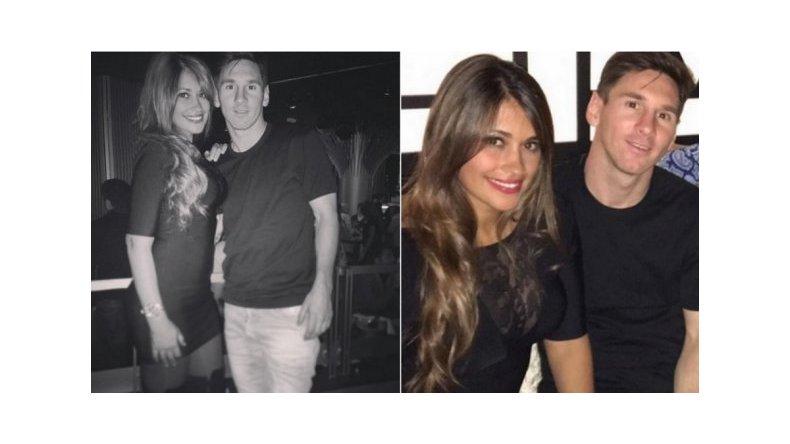 El look de la mujer de Messi, a dos meses de ser mamá